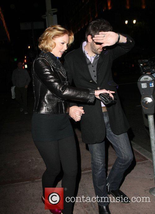 Katherine Heigl and Husband Josh Kelly Beso Restaurant On Katherine's 31st Birthday 7