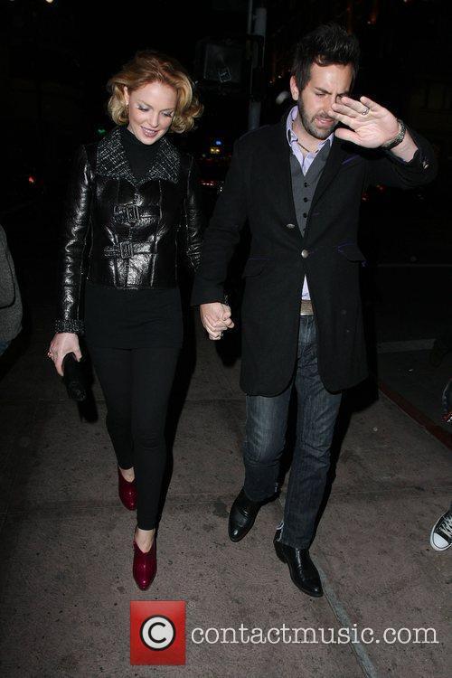 Katherine Heigl and Husband Josh Kelly Beso Restaurant On Katherine's 31st Birthday 6
