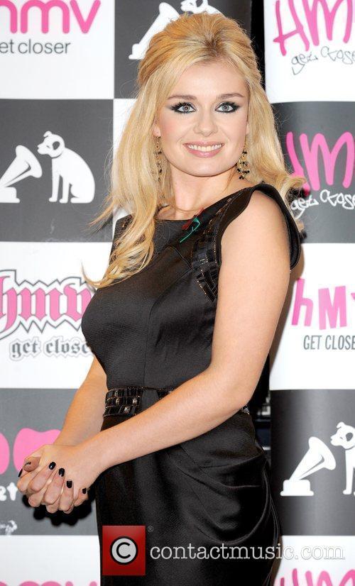 Katherine Jenkins at a cd signing at HMV,...