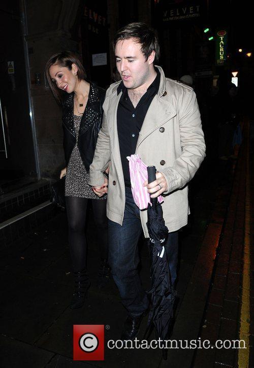 Arrive at Velvet Manchester to celebrate Katherine Kelly's...