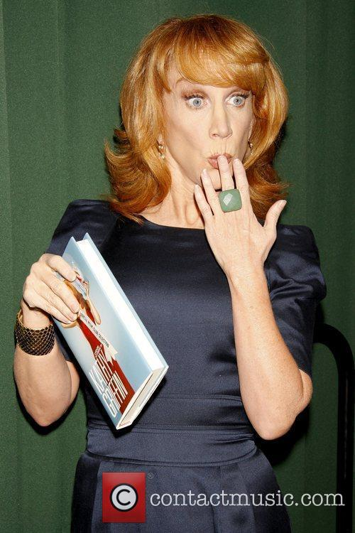 Kathy Griffin promoting her new book 'Official Book...