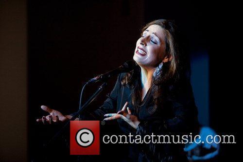 Portuguese Fado singer Katia Guerreiro performing live at...