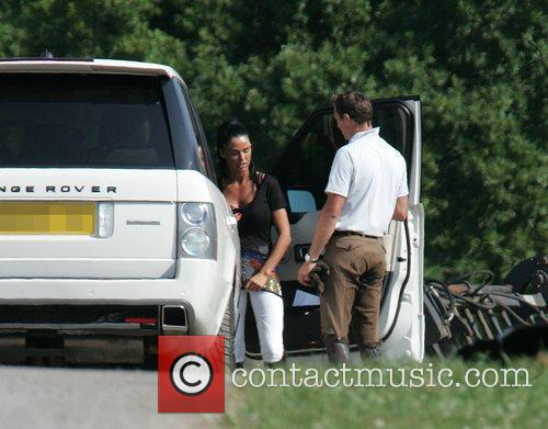 katie price aka jordan leaving the stables on her daughter's 2nd birthday 2480470