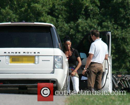 katie price aka jordan leaving the stables on her daughter's 2nd birthday 2480474