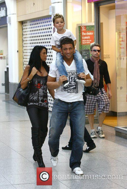Katie Price, Aka Jordan, Boyfriend Alex Reid and Son Junior 7