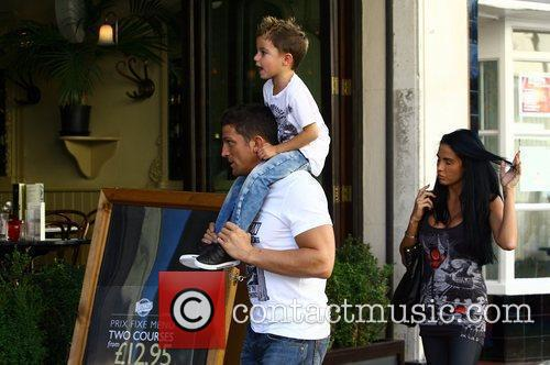 Katie Price, Aka Jordan, Boyfriend Alex Reid and Son Junior 9