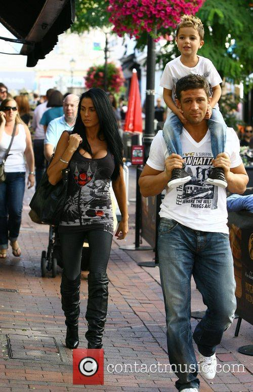 Katie Price, Aka Jordan, Boyfriend Alex Reid and Son Junior 11