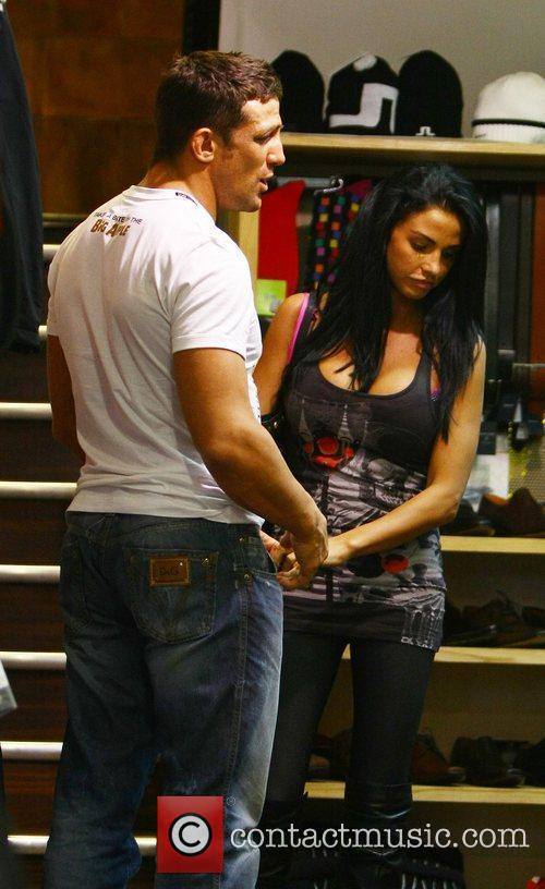 Katie Price, aka Jordan and with boyfriend Alex Reid 1