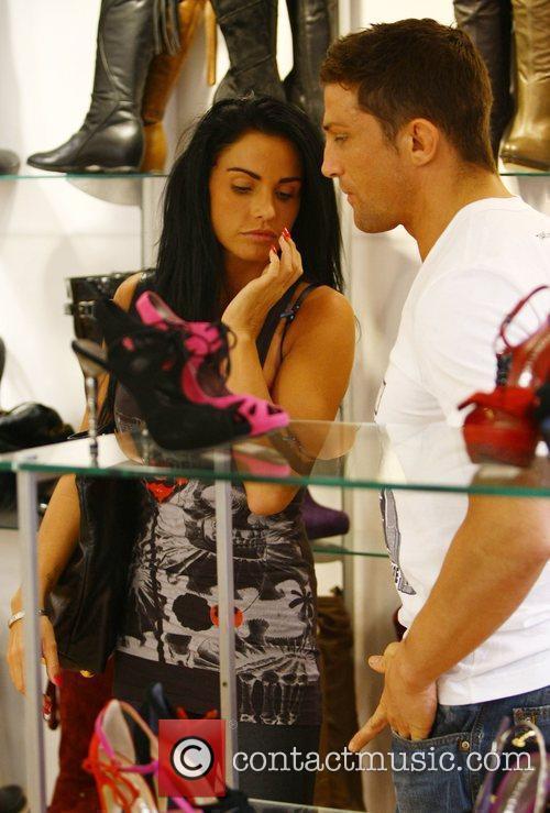 Katie Price, aka Jordan and with boyfriend Alex Reid 12