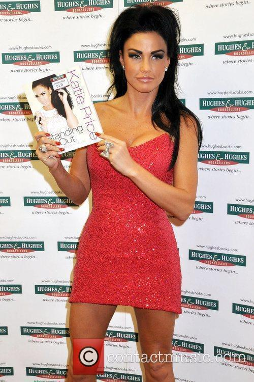 Katie Price, Aka Jordan, Signs Copies Of Her New Book 'standing Out' At Hughes and Hughes 1
