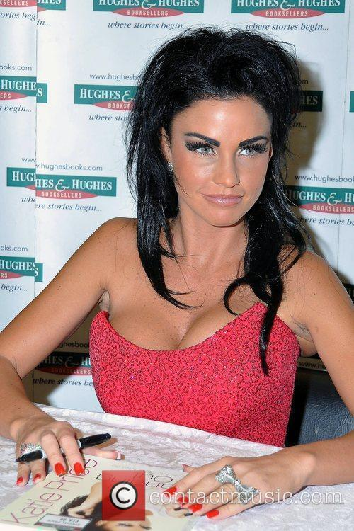 Katie Price, Aka Jordan, Signs Copies Of Her New Book 'standing Out' At Hughes and Hughes 8