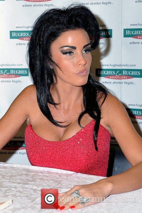 Katie Price, Aka Jordan, Signs Copies Of Her New Book 'standing Out' At Hughes and Hughes 2