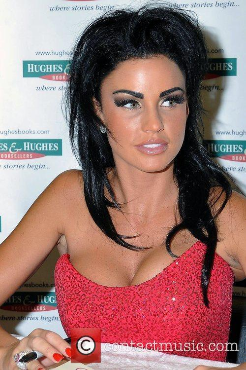 Katie Price, Aka Jordan, Signs Copies Of Her New Book 'standing Out' At Hughes and Hughes 6