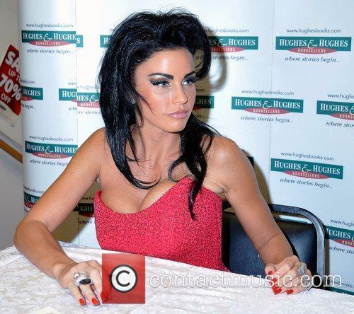 Katie Price, Aka Jordan, Signs Copies Of Her New Book 'standing Out' At Hughes and Hughes 5