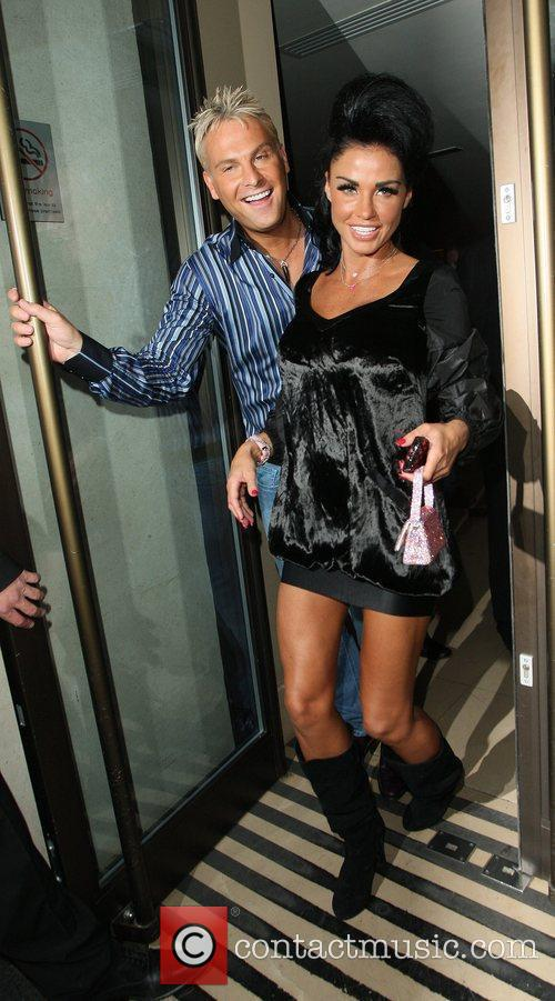 Katie Price and David Walliams 9