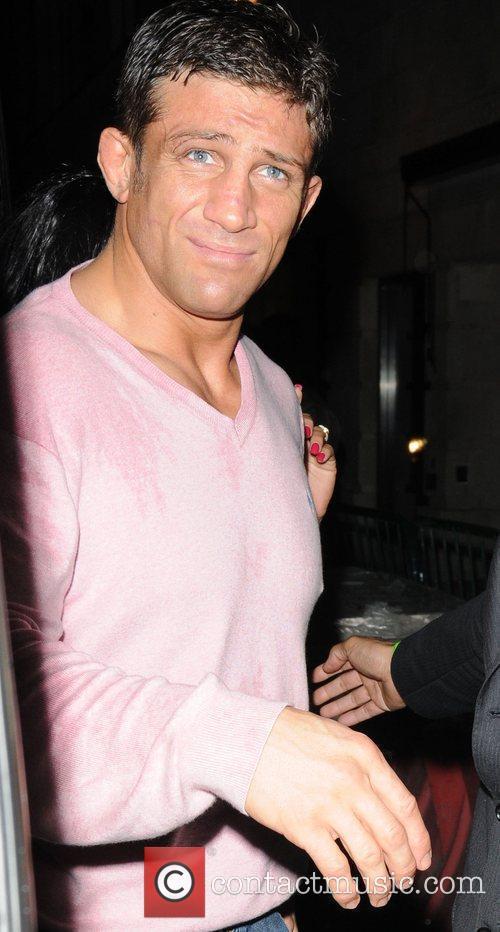 Alex Reid arriving at Movida London, England