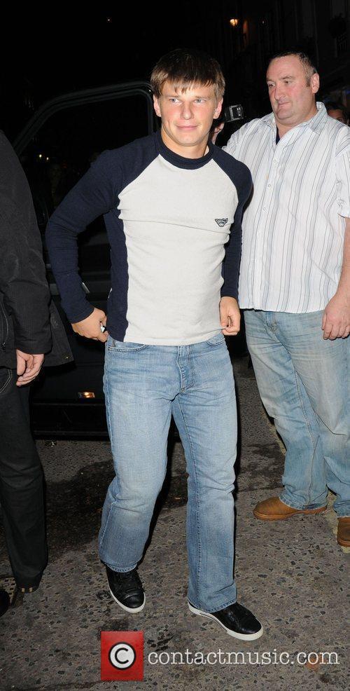 Arsenal footballer Andrey Arshavin  arriving at Movida...