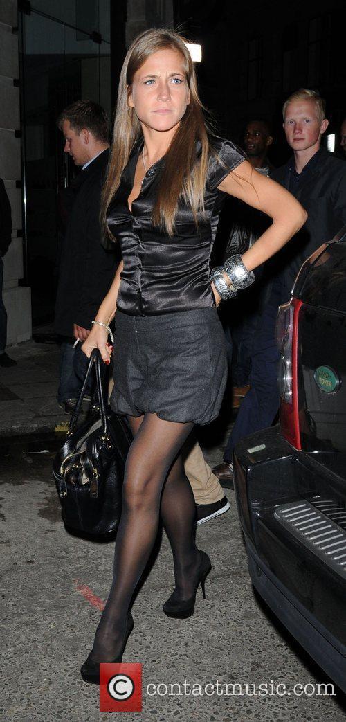 Yulia, girlfriend of Arsenal footballer Andrey Arshavin,...