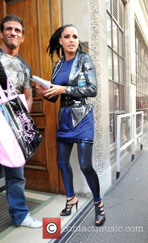 Katie Price and Alex Reid Leave The Radio One Studios After Katie Appeared On The Trevor Nelson Show 10