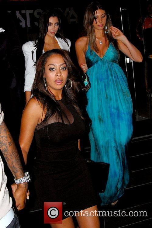 Kim Kardashian, Brittny Gastineau and Alani 'La La'...