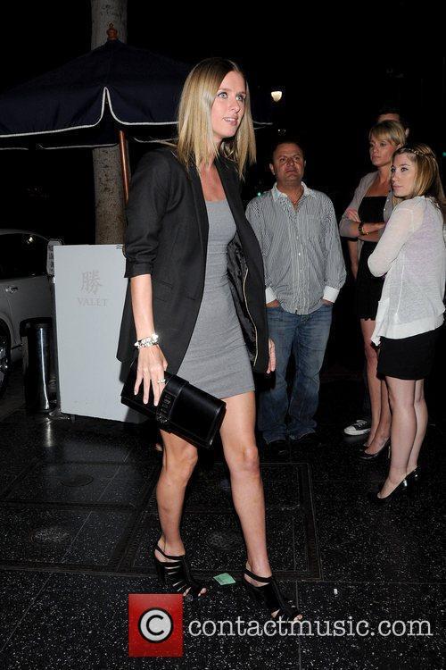 Nicky Hilton leaving Katsuya restaurant Los Angeles, California