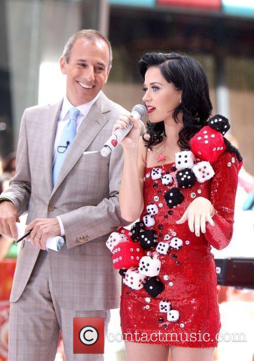 Matt Lauer and Katy Perry 2