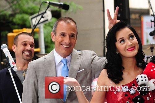 Matt Lauer and Katy Perry 1