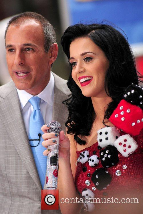 Matt Lauer and Katy Perry 6