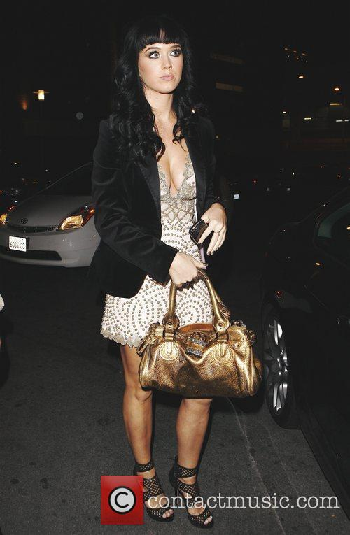 Katie Perry arriving at a Hollywood nightclub Hollywood,...