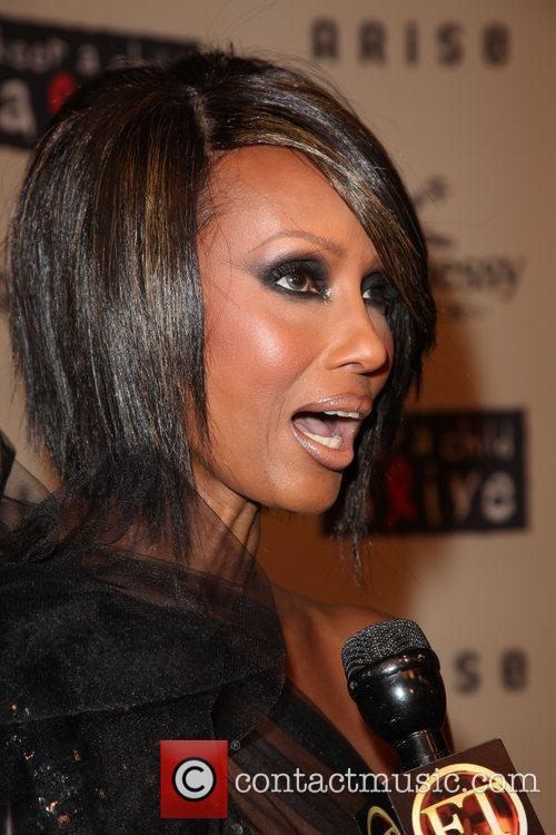 Iman  6th annual Keep a Child Alive...