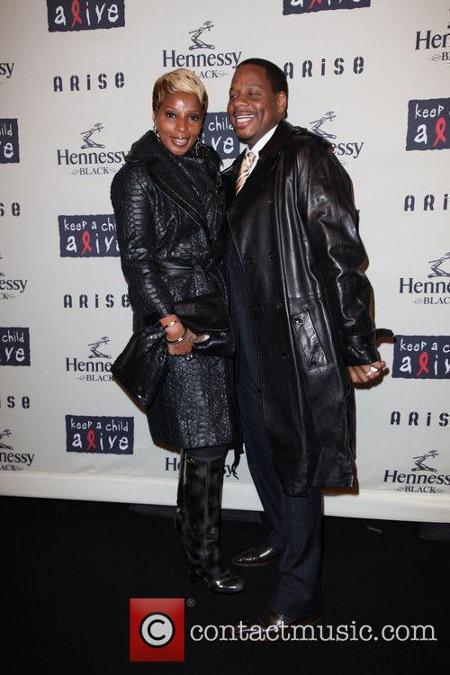 Mary J Blige and Kendu Isaacs  6th...