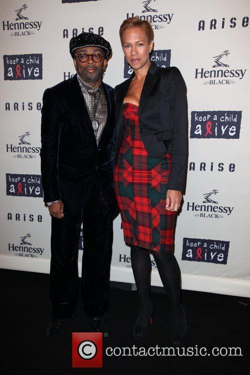 Spike Lee and Tonya Lews Lee  6th...