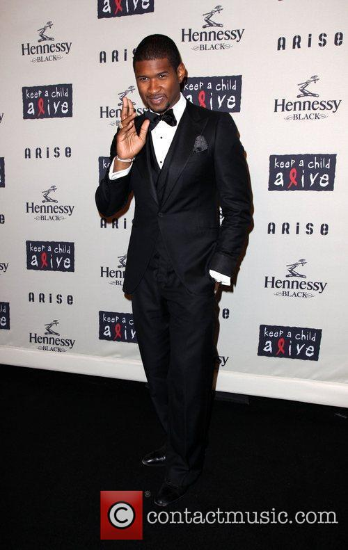 Usher  6th annual Keep a Child Alive...