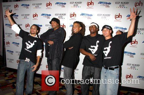 Acrodunk Event for 'Americas Got Talent' benefitting Keep...