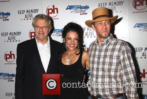 Jerry Springer, Barbara Padilla and Kevin Skinner
