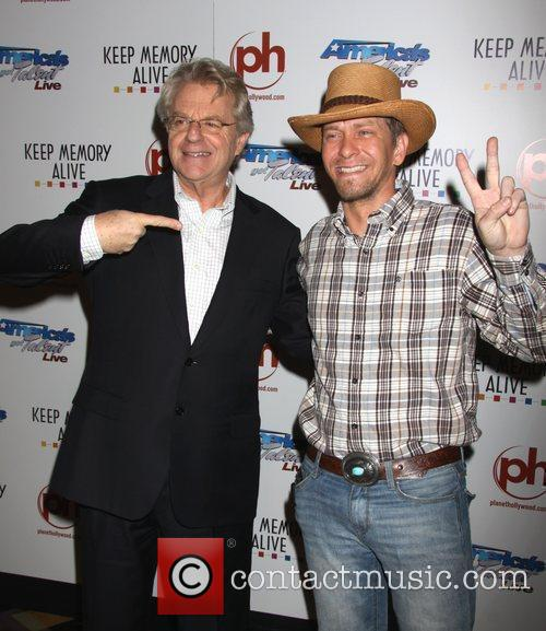 Jerry Springer and Kevin Skinner