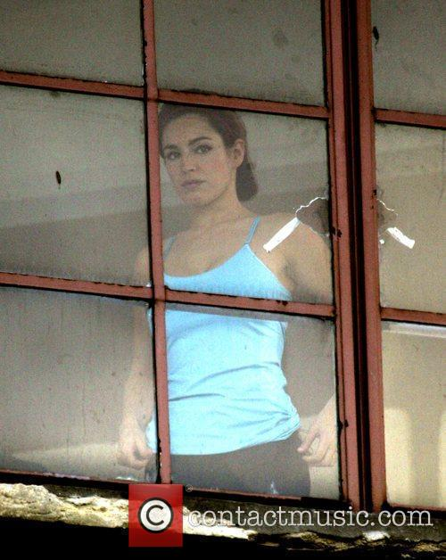 Kelly Brook sports her gym outfit  for...