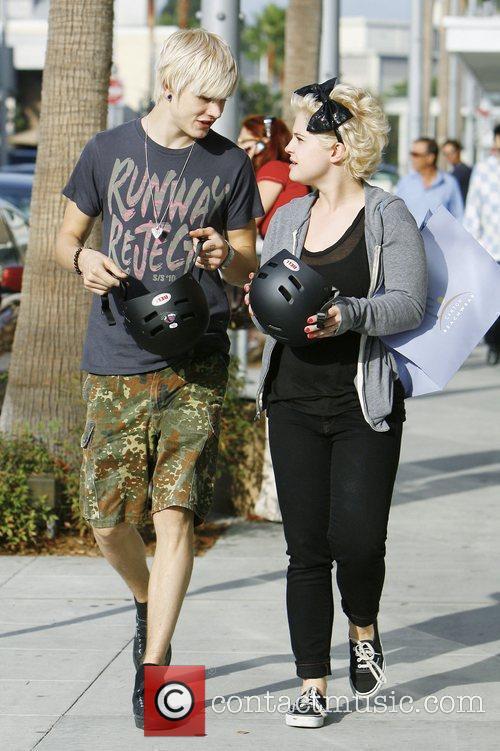 Kelly Osbourne and Boyfriend Luke Worrall 3