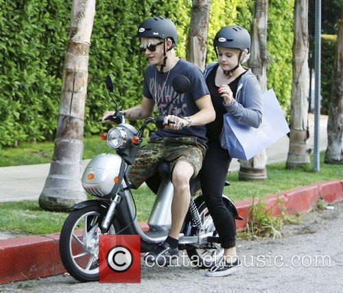 Kelly Osbourne and Boyfriend Luke Worrall 6