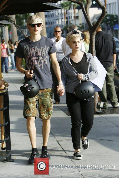 Kelly Osbourne and Boyfriend Luke Worrall 8