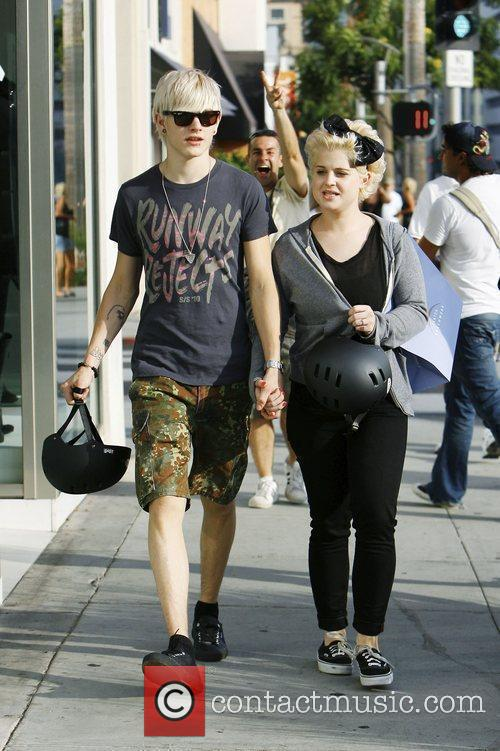 Kelly Osbourne and Boyfriend Luke Worrall 5