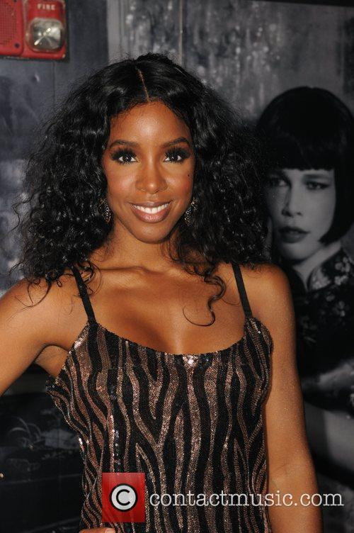Kelly Rowland  after performing live at MYNT...