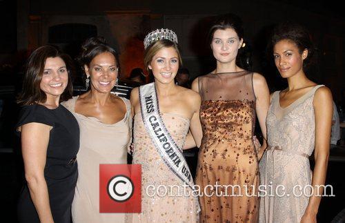 Elizabeth Rusnak, Miss California Tami Farrell at Kevan...