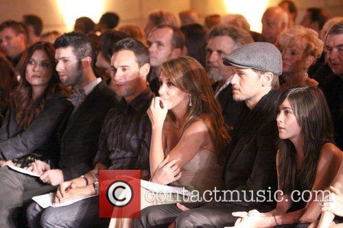 Haylie Duff, Nick Zano at Kevan Hall Spring...