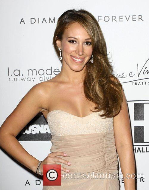 Haylie Duff at Kevan Hall Spring 2010 Collection...