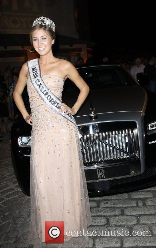 Miss California Tami Farrell at Kevan Hall Spring...