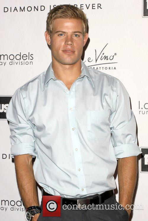 Trevor Donovan at Kevan Hall Spring 2010 Collection...