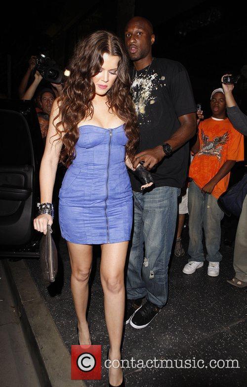Khloe Kardashian and Lamar Odom 5