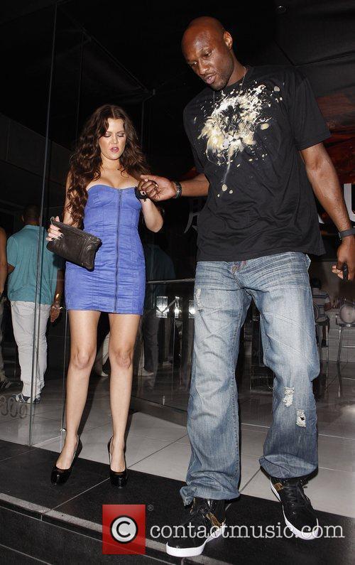 Khloe Kardashian and Lamar Odom 4
