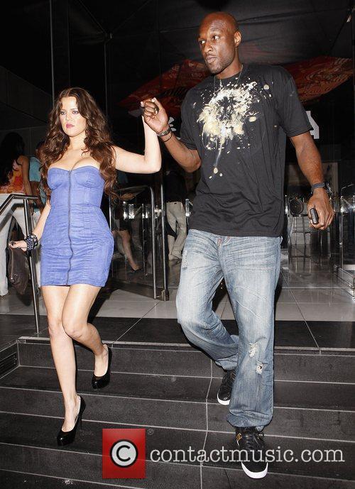 Khloe Kardashian and Lamar Odom 6